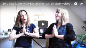 stemtips stemhygiëne stem zingen verkouden stem kwijt