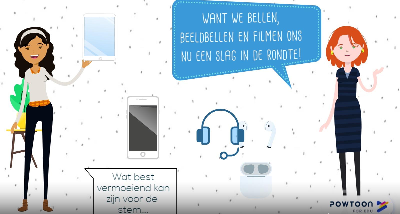 videobellen beeldbellen stemgebruik online stem